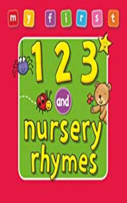 My-First...-123-and-Nursery-Rhymes-Hardcover