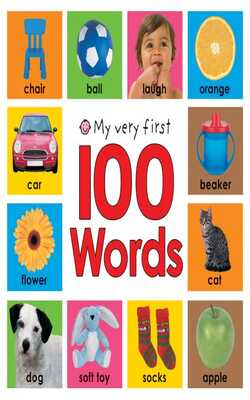 My-very-first-100-words---Board-book