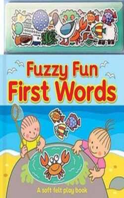 Buy Fuzzy Fin First words _ Feel and Touch by Top that Publisher online in india - Bookchor | 9781846668890