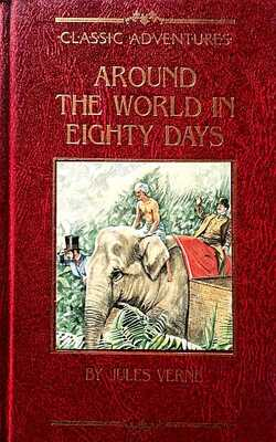 Around-the-world-in-eighty-days-By-Jules-Verne-Hardcover