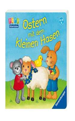 Ostern-mit-dem-kleinen-hasen---Board-book