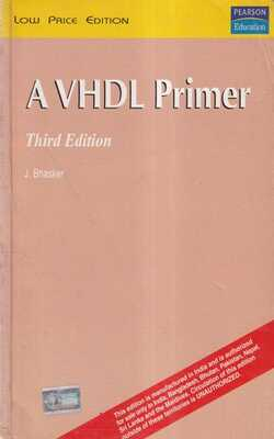 Buy Vhdl Primer by Bhasker online in india - Bookchor | 9788177582000