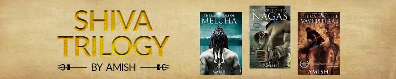 Shiva Trilogy by Amish Tripathi Paperback (Set of 3 books)
